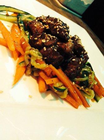 Snack Bar Faloppia : Pollo in agrodolce alla cantonese con verdure miste