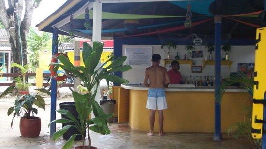 Sol Caribe San Andres: Bar del Hotel de Campo