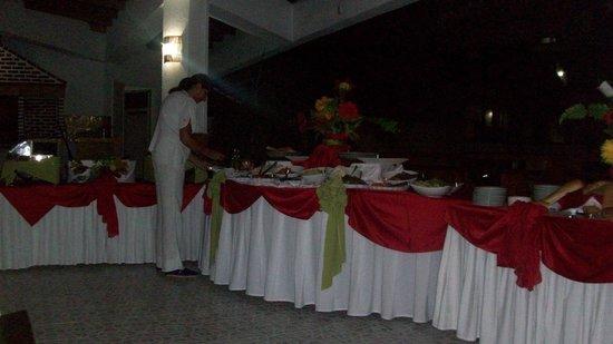 Sol Caribe San Andres: Restaurante de parrilla