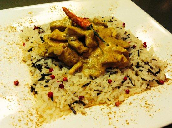 Snack Bar Faloppia : Buonissimo inimitabile pollo al curry del faloppia