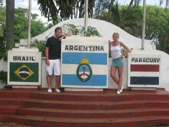 Hito de Las Tres Fronteras Argentina: Tres Fronteras