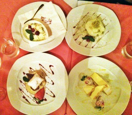 Da Gaia: Desserts