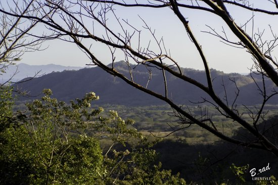 Finca Las Nubes: View from a farm trail, hiking