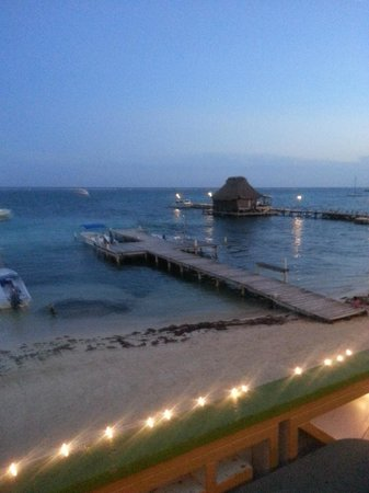 DC & Szana's Country Cabana: Sunset from the balcony outside my room