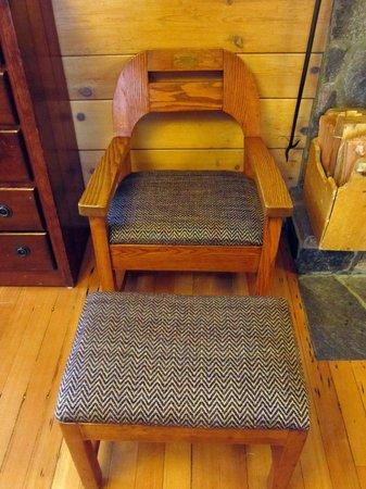 Timberline Lodge: Franklin Roosevelt sat here
