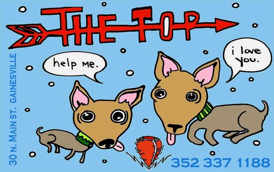 The Top: Here to serve you good food