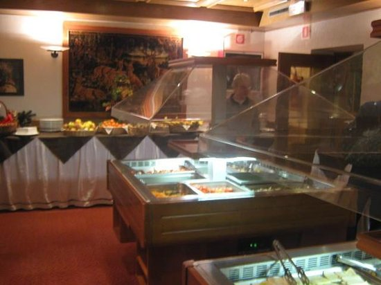 Wellness Hotel Fontana: buffet