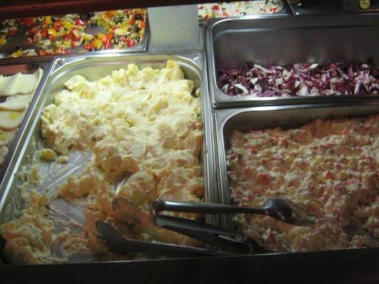 Wellness Hotel Fontana: ottime patate con maionese