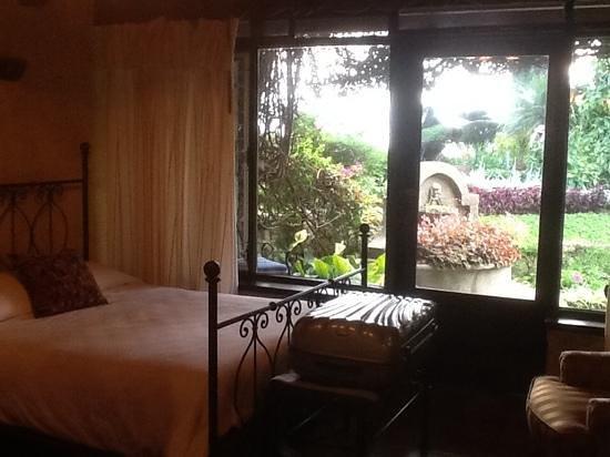 Hotel Atitlan : vue de la chambre