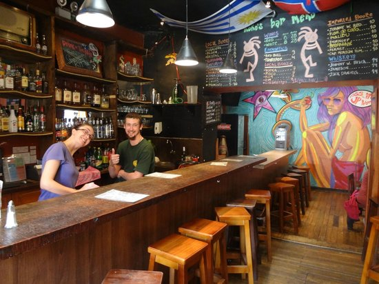Kokopelli Hostel: Our Bar