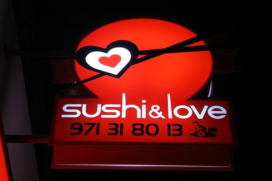 Sushi And Love : la tienda