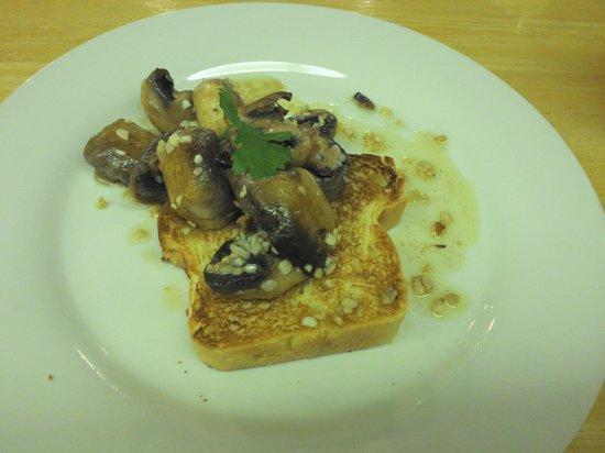 Gipsy Hill Hotel: Garlic Mushrooms - very tasty