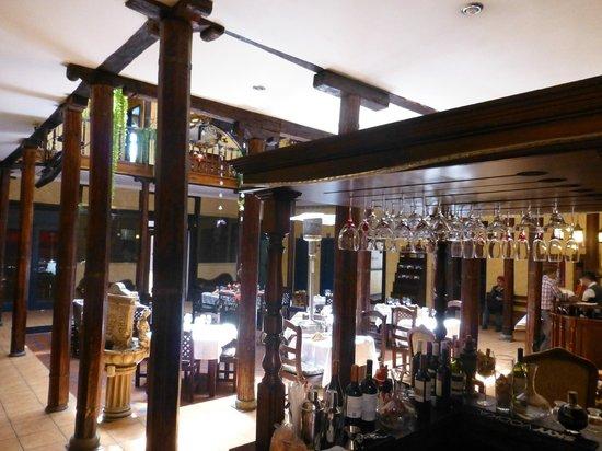 Hotel Los Balcones: reception/dining area