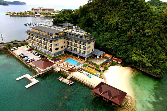 Sea Passion hotel : The Hotel from above