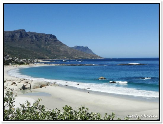 Camps Bay, South Africa: Vista da praia