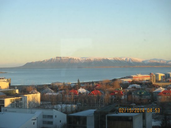 Hilton Reykjavik Nordica: View from even-numbered room