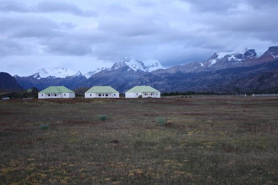 Estancia Cristina Lodge: view of 3 of the lodges