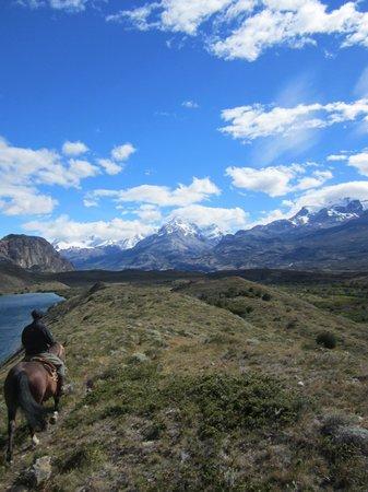 Estancia Cristina Lodge: Horseback ride