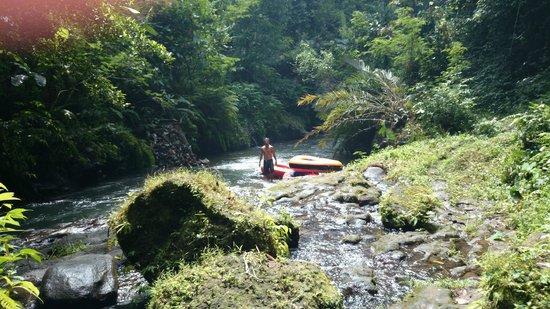 Bali River Tubing: Wayan Danu, our guide