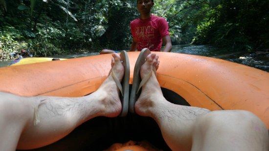 Bali River Tubing: Whoopsie daisies