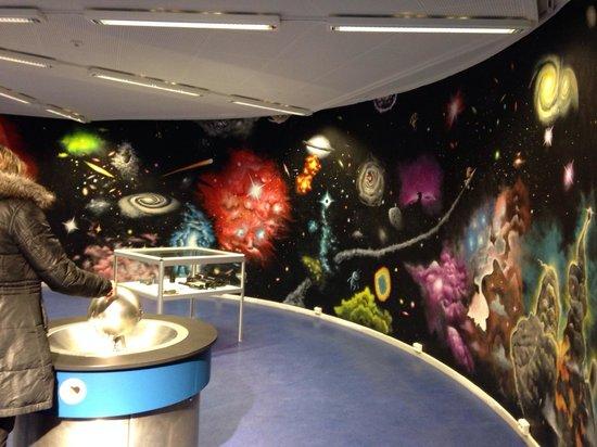 Nordnorsk Vitensenter: Displays of planets