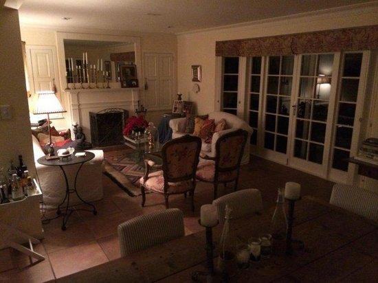 Maison du Bois: Sitting Room