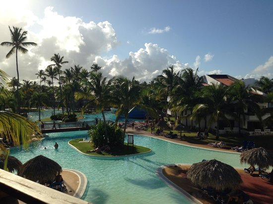 Occidental Grand Punta Cana: View from our room 23-304