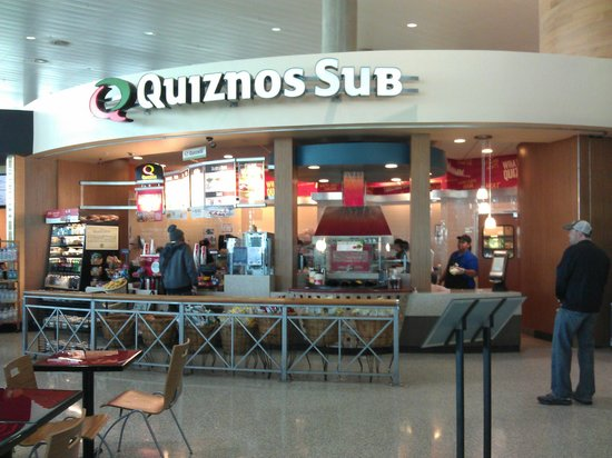 Quiznos Sub Shop Tampa Airport Florida - Picture of Quiznos, Tampa ...