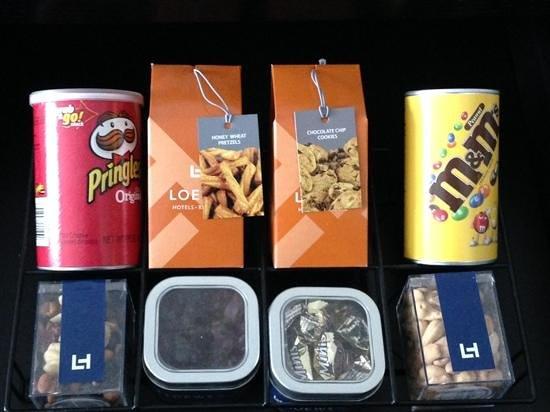 Loews Philadelphia Hotel: Expensive snacks