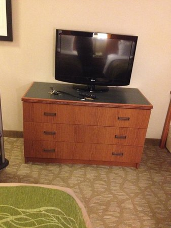 Comfort Inn & Suites : Flat screen tv