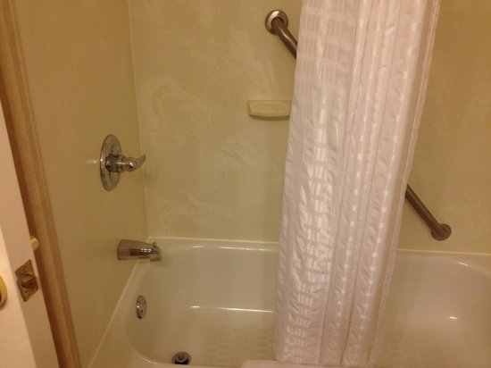 Comfort Inn & Suites : Very clean shower