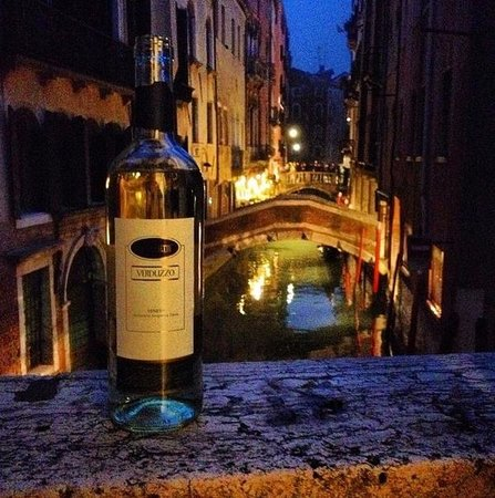 Hotel Caneva: view and wine, room 30