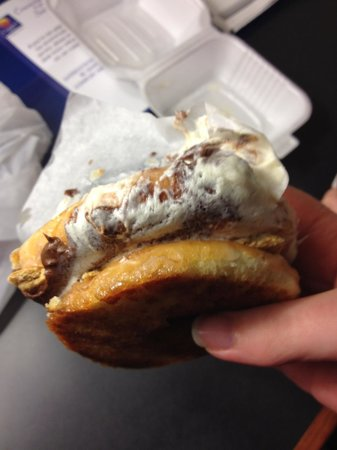 Tom & Chee: S'more donut. SO delicious!