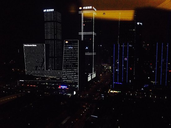Sheraton Shenzhen Futian Hotel : Night View