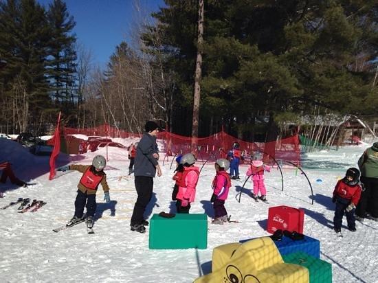 Cranmore Mountain Adventure Park: kids rule ski school