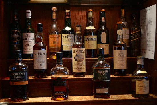 Ben Nevis Bar and Restaurant: Whisky Selection