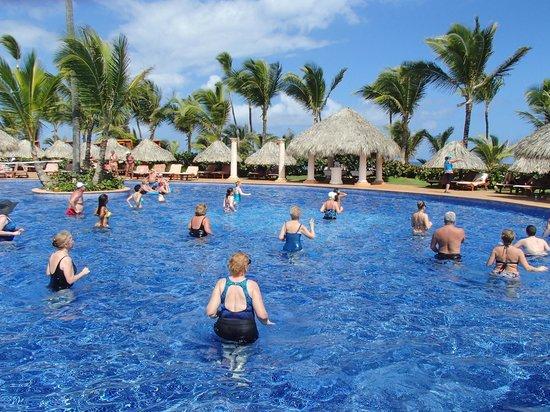 Excellence Punta Cana: Aqua Zumba® class