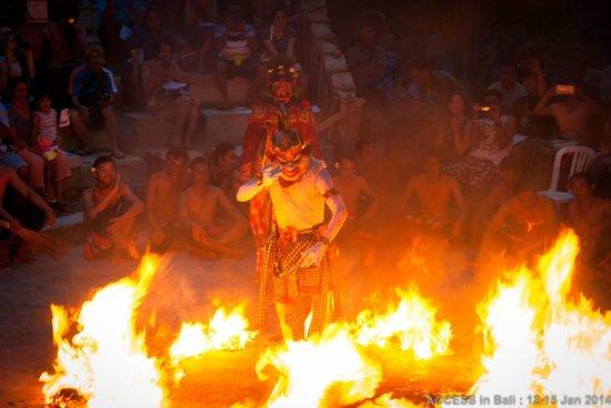 Kecak and Fire Dance : Hanuman in Fire