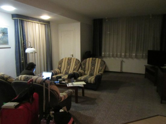 Hotel Belwederski: This is the living room