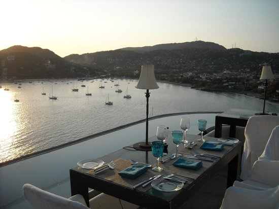 Tentaciones Restaurant : Amazing view from our table