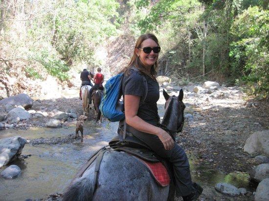 Finca Caballo Loco - Horse Tours Costa Rica : Susan