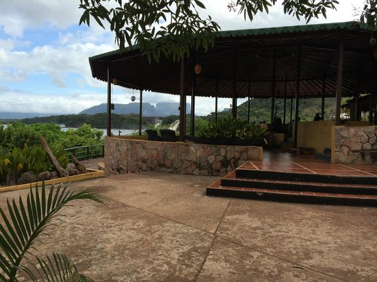 Campamento Canaima : View from the restaurant