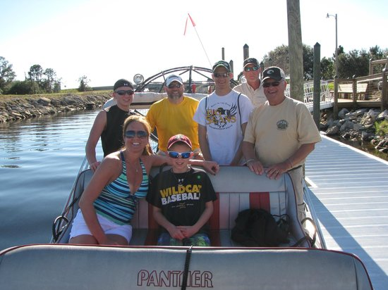 Spirit of the Swamp Airboat Tours : Thanks Captain Dale!