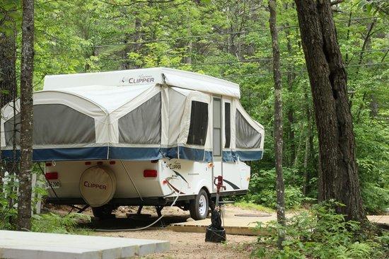 Chocorua Camping Village: Pop Up Rental