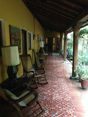 Posada Fuente Castalia: Hotel Grounds