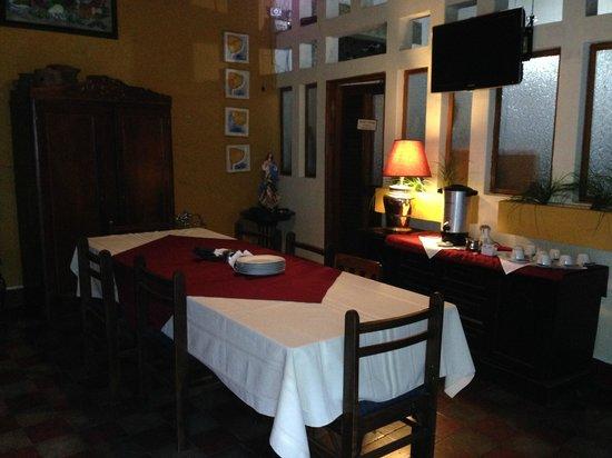 Posada Fuente Castalia: Dining Area