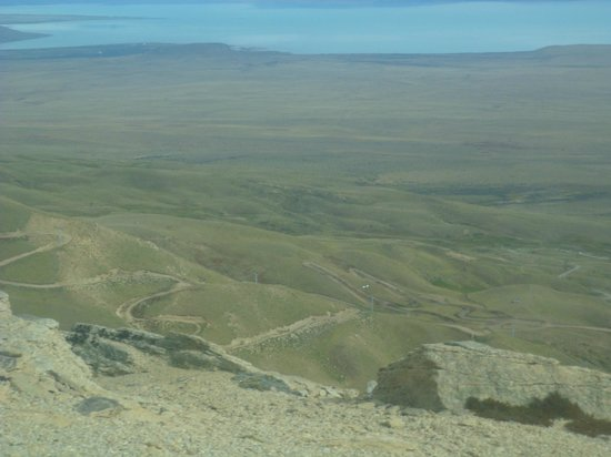 Calafate Mountain Park: Vista desde las aerosillas