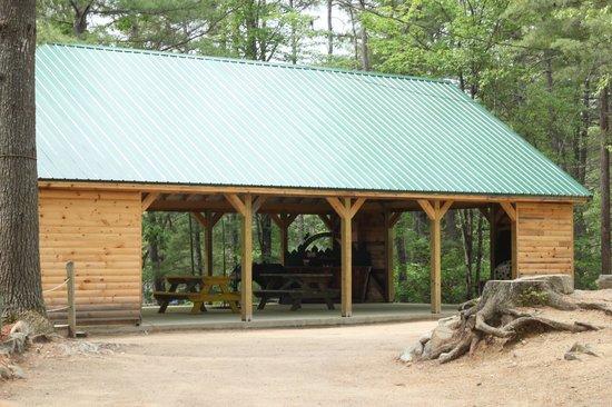 Chocorua Camping Village: Pavilion