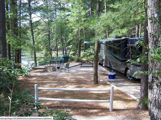 Chocorua Camping Village : Deluxe Site