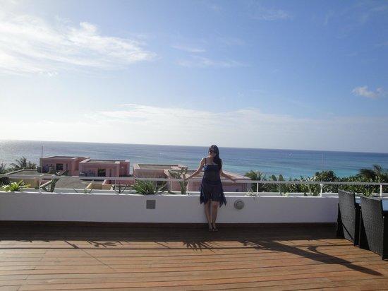 Paradise Oceanic Hotel : Vista panorámica desde la terraza del hotel